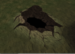 Chinchompa cave entrance