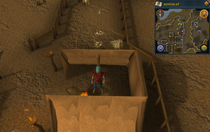 Emote clue Laugh Jokul's tent