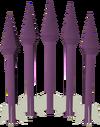 Basiliskbane bolt detail