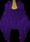 Menap headgear (purple) detail