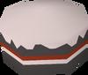 Burnt cake detail