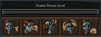 Zombie stress level