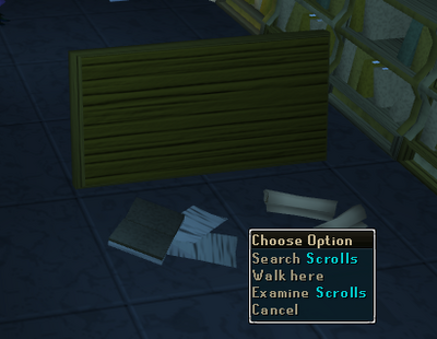Scrolls location