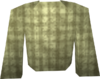 Cream robe top detail