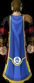 Herald cape (Lumbridge) equipped