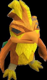 Phoenix eggling (mean) pet