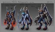 Kril's bodyguards concept art