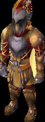 Warpriest of Armadyl set equipped