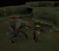 Dagannoth mother fight (Blood Runs Deep)