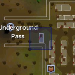 Dark mage (Underground Pass) location