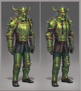 Necrite armour concept art