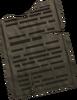 Stone tablet (Curse of Arrav) detail