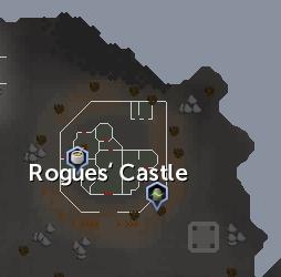 Rogues' Castle map