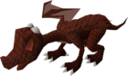 Baby dragon (red) pet old