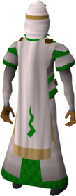 Guthix cloak equipped