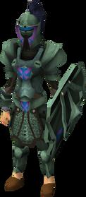 Adamant heraldic armour set 2 (sk) equipped