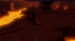 Lava Maze Dungeon mine