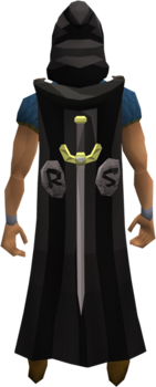 Classic cape equipped