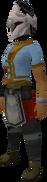 Rune heraldic helm (Horse) equipped