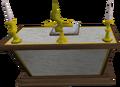 Gilded altar built