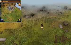 Scan clue Piscatoris Hunter area south of Piscatoris mining site