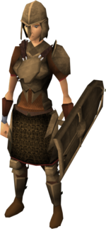 Bronze armour set (sk) equipped