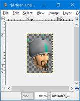 GIMP - flip tool example3