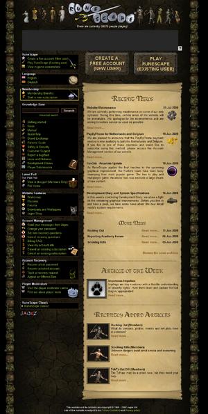 Homepage Q2 2008