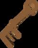 Muddy key detail