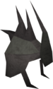 Spiked helmet detail