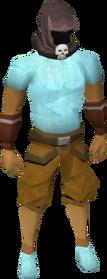 Wildstalker helmet (tier 1) equipped