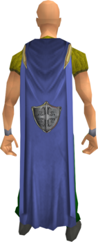 Defence cape equipped