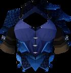 Blue dragonhide body detail
