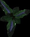 Grimy wormwood leaf detail
