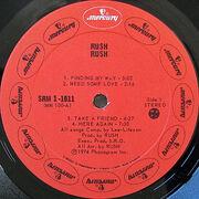 Rush, Mercury SRM-1-1011 Canadalabelside1