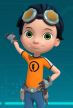 Rusty Rivets Spin Master Nickelodeon Nick Jr. Character