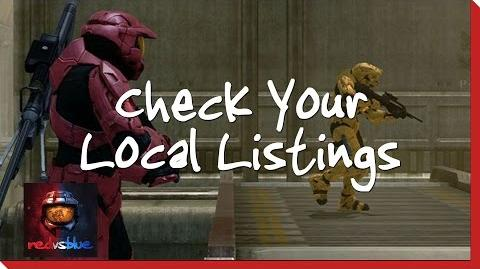 Check Your Local Listings – Chapter 15 – Red vs. Blue Season 8