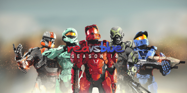RvB14 Cover Art