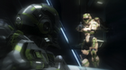 UNSC soldier aims at Locus