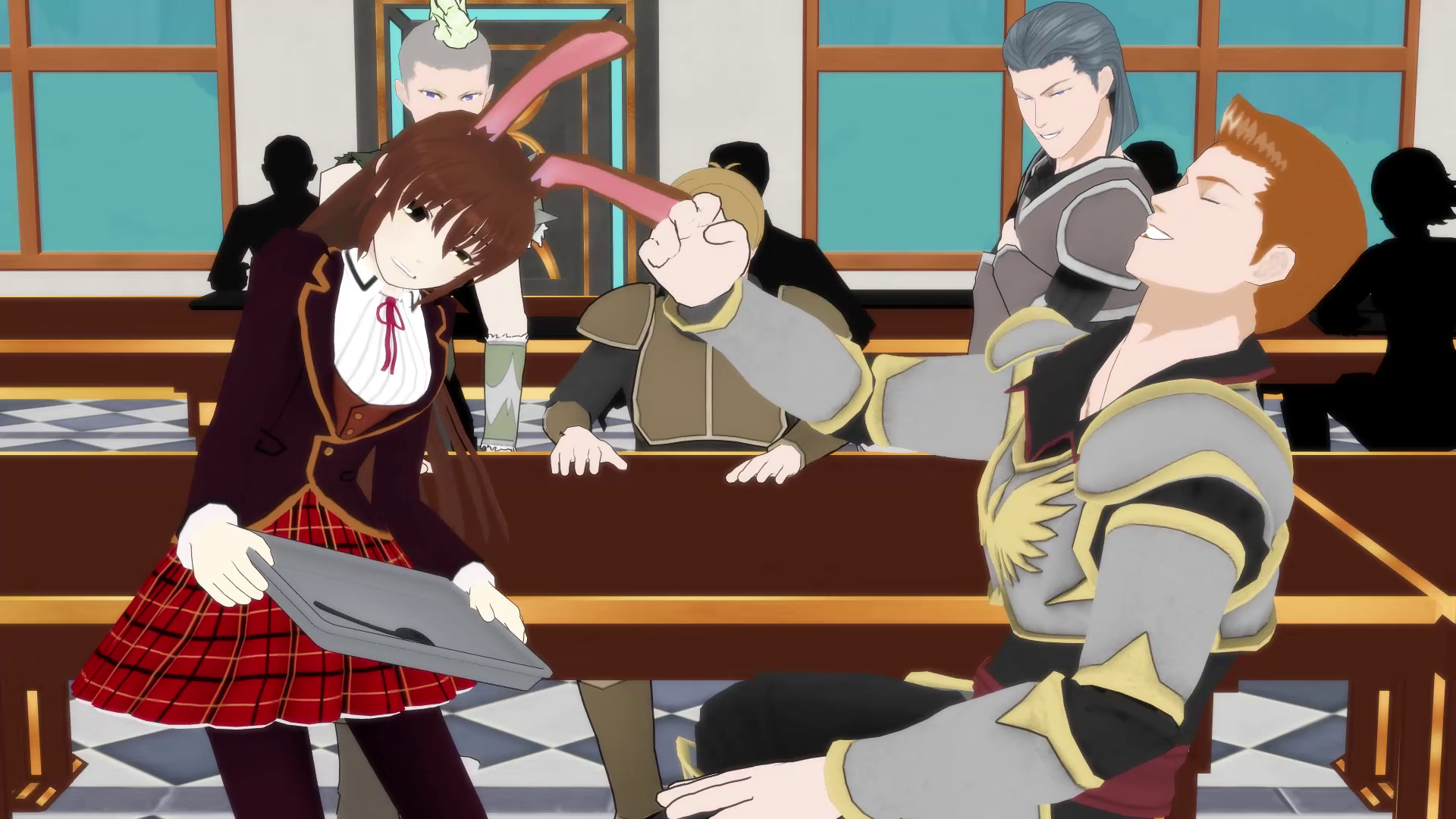 File Anti upskirt fluff as well Hazel Rainart furthermore Characters in addition File Remnant Labeled further File RWBY Character Ranking 3 2. on rwby ozpin