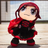 Plush ruby large