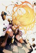 Yang (RWBY Official Japanese Fanbook, Illustration,TNSK)