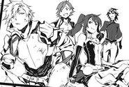Manga 15, Team JNPR