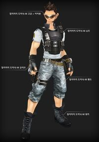 Military Dominic male set