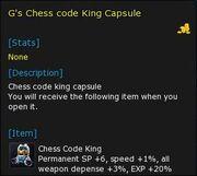 TYPE ChessKing Cap