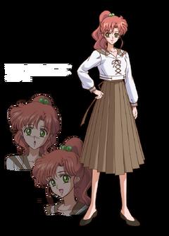 sailor moon character designs  Makoto Kino (second anime)