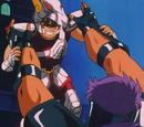 Burn! Meteor Punch of Pegasus!