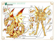 Manga Dragon God Cloth