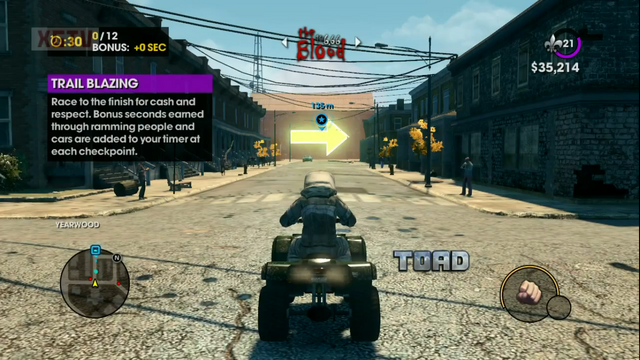 File:Toad with logo in Trail Blazing in a Saints Row The Third gameplay preview.png