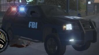 FBI - front right with headlights in Saints Row 2
